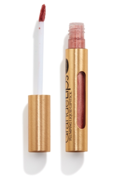 GrandeLIPS; Plumping Liquid Lipstick Semi Matte - Metallic - Rose Blush
